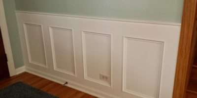 Make Recessed Wainscoting Wall Scratch