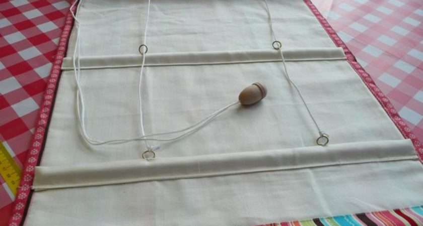 Make Roman Shades Grasscloth