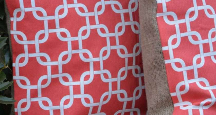 Make Sew Double Sided Pillow