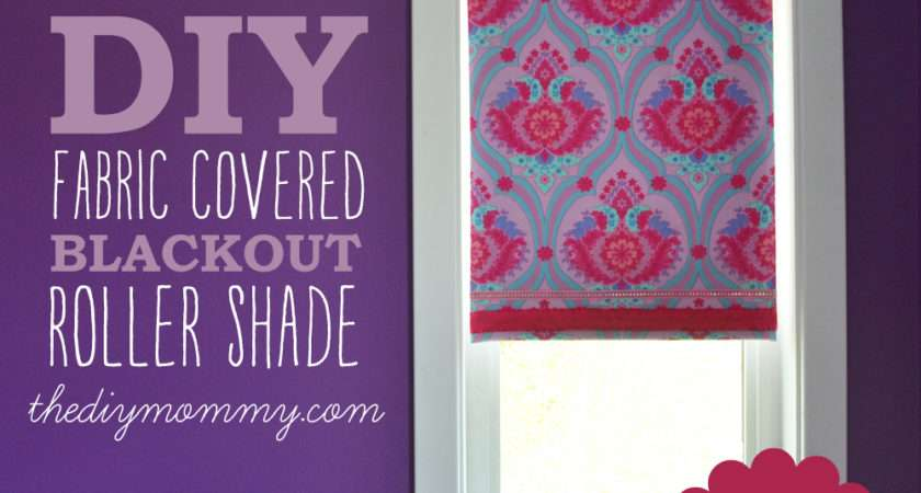 Make Sew Fabric Covered Roller Shade