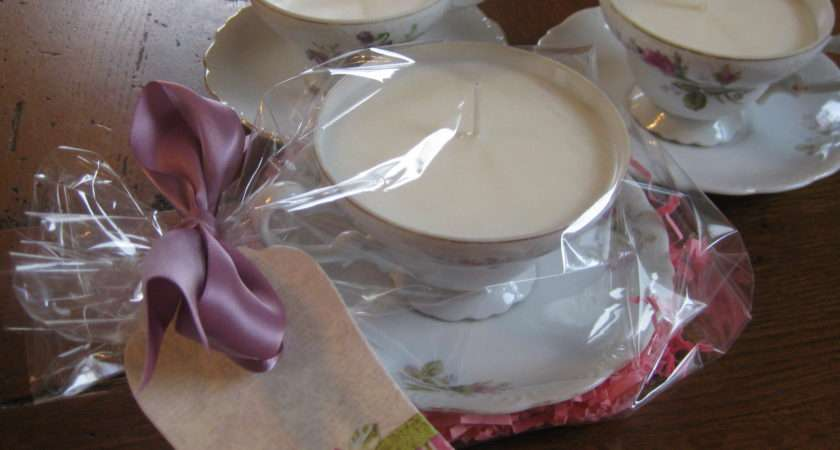 Make Shabby Chic Candle Teacup