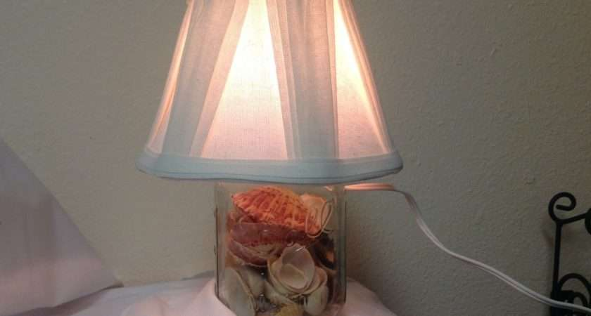 Make Table Lamp Using Mason Jar