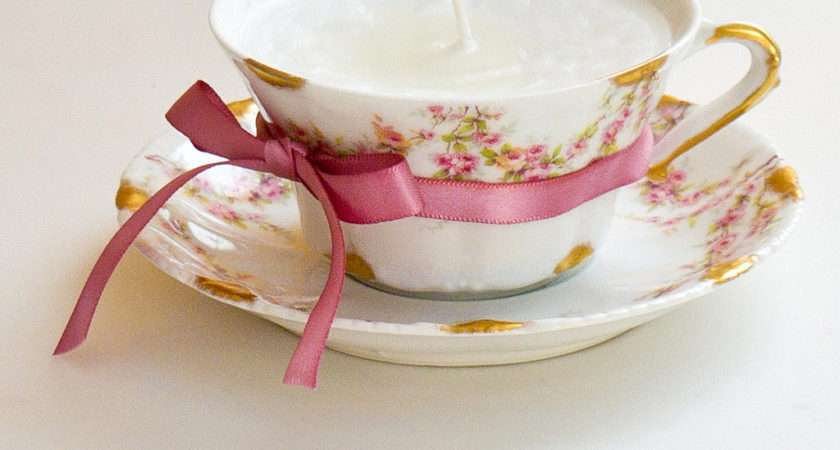 Make Teacup Candle Popsugar Smart Living