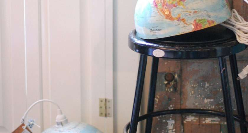 Make Vintage Globe Lamp Huffpost