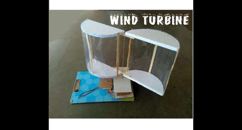 Make Wind Turbine Cool Science Project Youtube