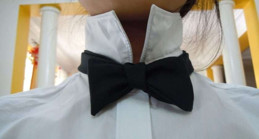 Make Your Own Bow Tie Costume References Pinterest