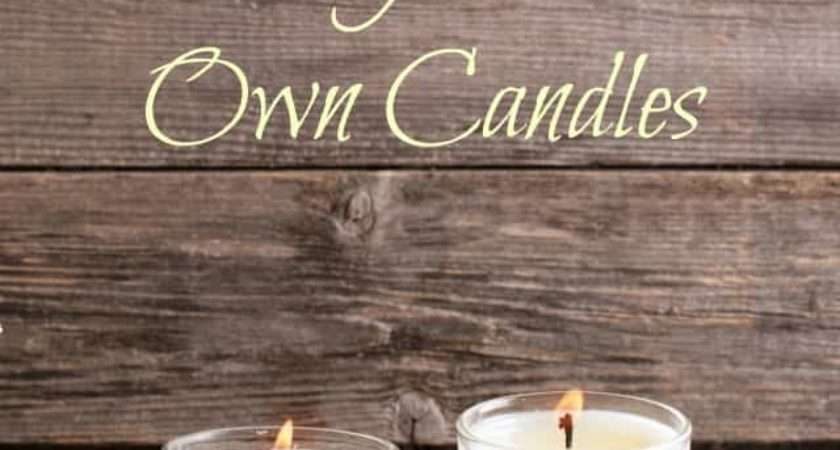 Make Your Own Candles Must Have Mom