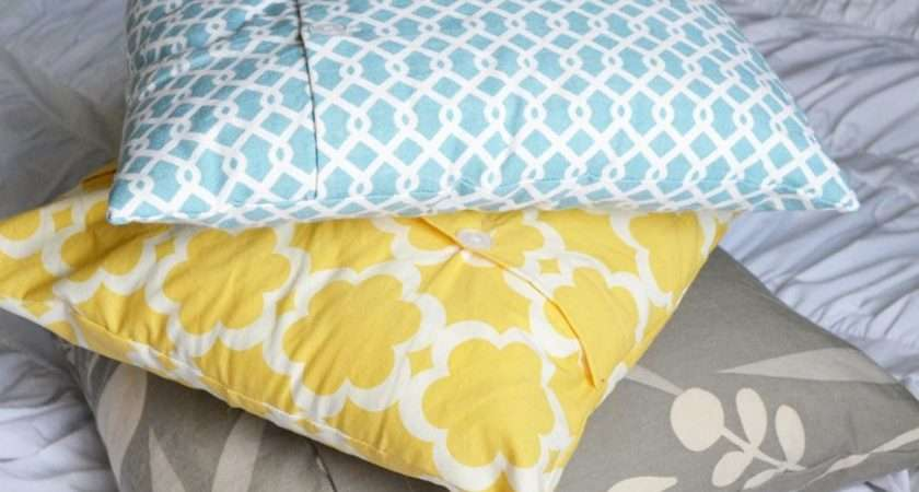 Make Your Own Diy Throw Pillows Using Affordable Materials