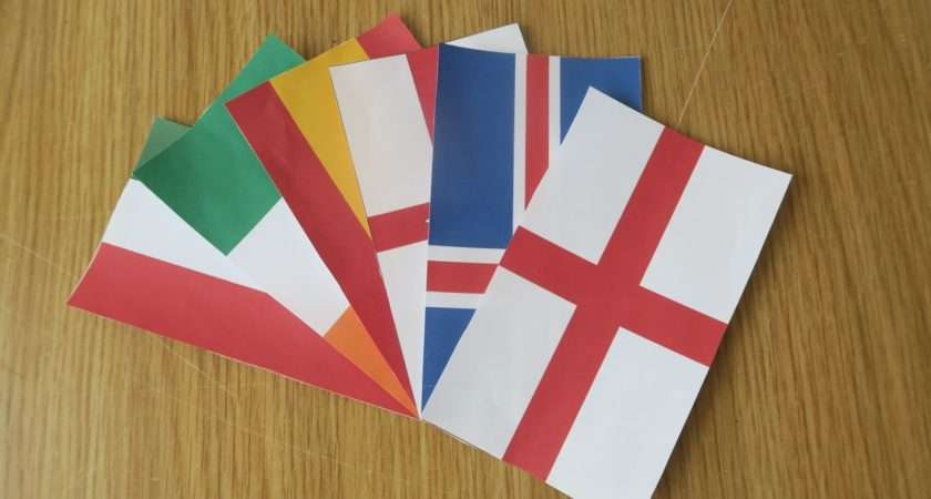 Make Your Own Euro Party Decoration