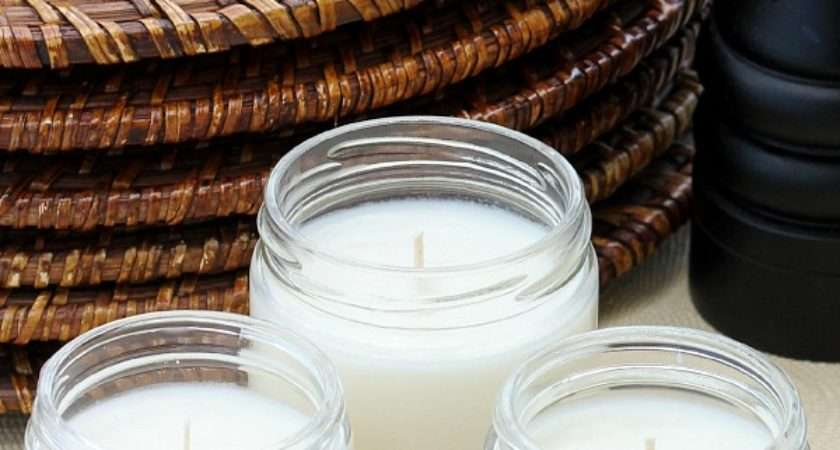 Make Your Own Even Better Citronella Candles All