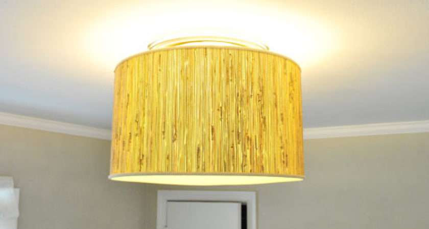 Making Ceiling Light Diffuser Lamp Shade