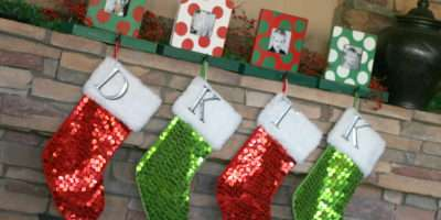 Mantle Home Decoration Ideas Christmas Stocking Hooks