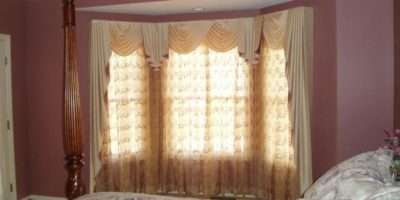 Many Bay Window Treatment Ideas Can Used Make Your