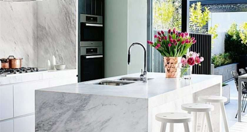 Marble Accents Latest Trend Interior Design Adorable Home