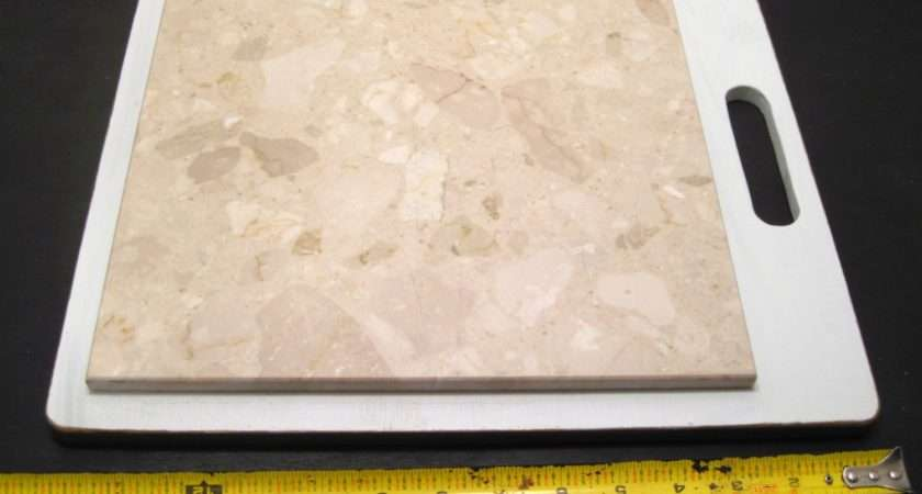 Marble Tile Trivet Cutting Pastry Cheese Board Large