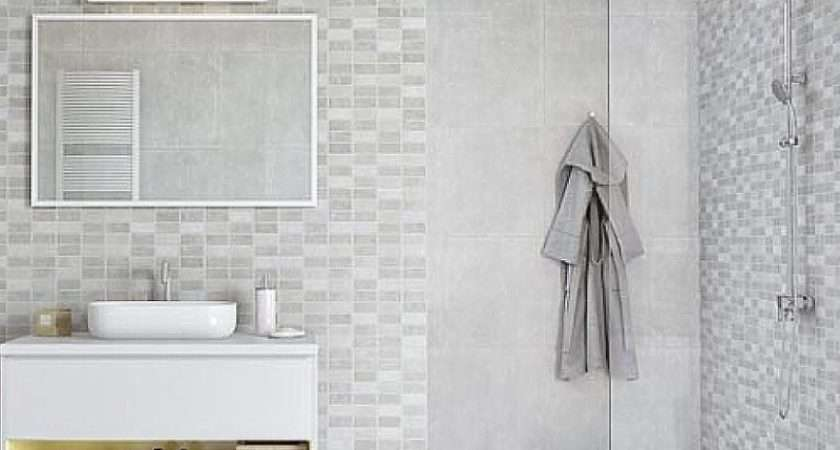 Marmo Mosaic Bathroom Panels Marquee
