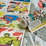 Marvel Comic Strip Children Departments