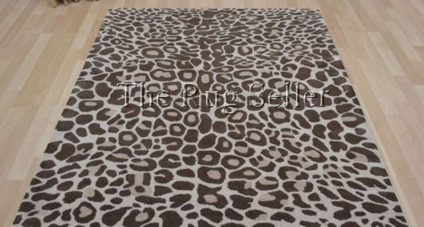 Masai Leopard Print Wool Rugs Delivery Rug