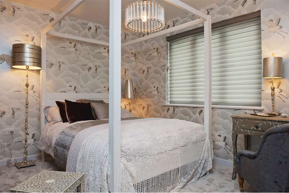 Master Bedroom Features Our Kendal Four Poster Bed Jasmine