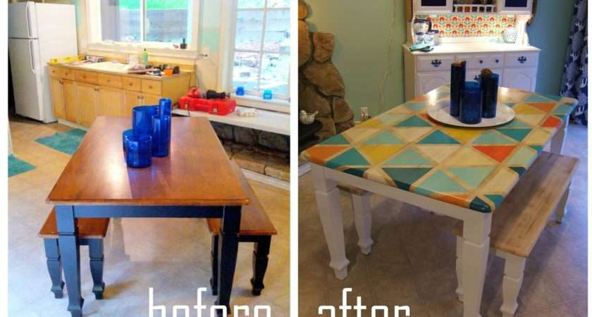Matching End Tables Diy Painted Kitchen Table Ideas