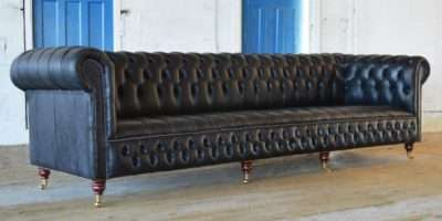 Mayfair Leather Chesterfield Sofa Abode Sofas