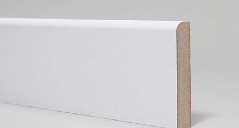 Mdf Moulded Primed Pencil Round Skirting