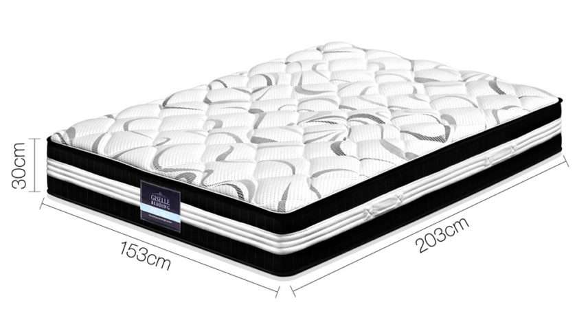 Medium Firm Pocket Spring Mattress Queen Ebay