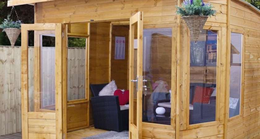Mercia Helios Curved Wooden Summerhouse