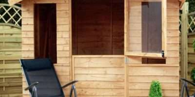 Mercia Overlap Wooden Split Door Summerhouse