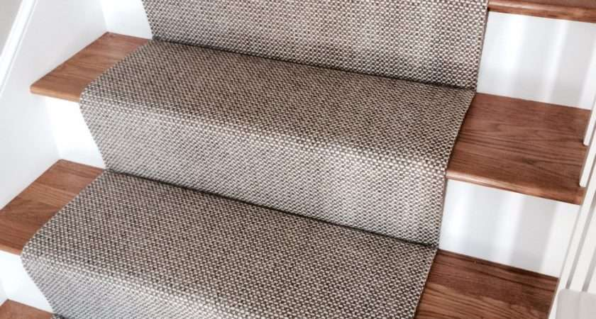 Merida Flat Woven Wool Stair Runner Carpet Workroom