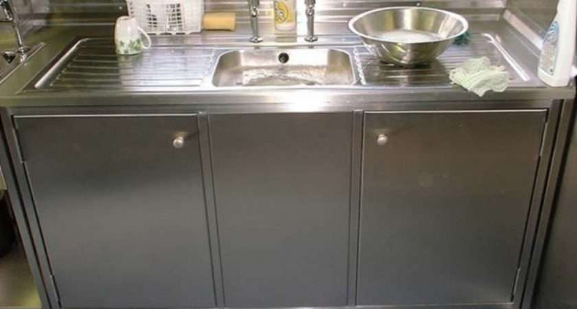 Metal Kitchen Sink Cabinet Unit Presented Your