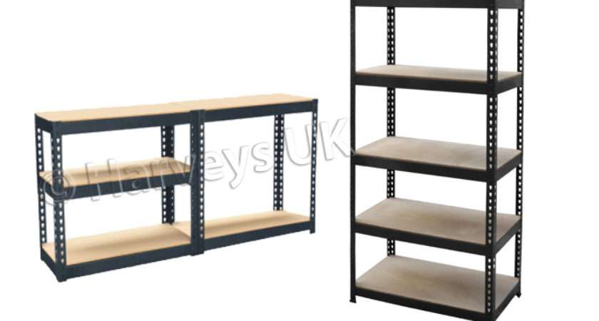 Metal Shelving Unit Storage Garage Racking Shelf Shelves Vertical