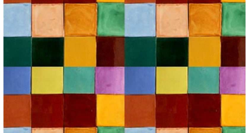 Mexican Solid Color Tiles