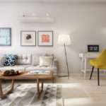 Midcentury Inspired Apartment Scandinavian Tendencies