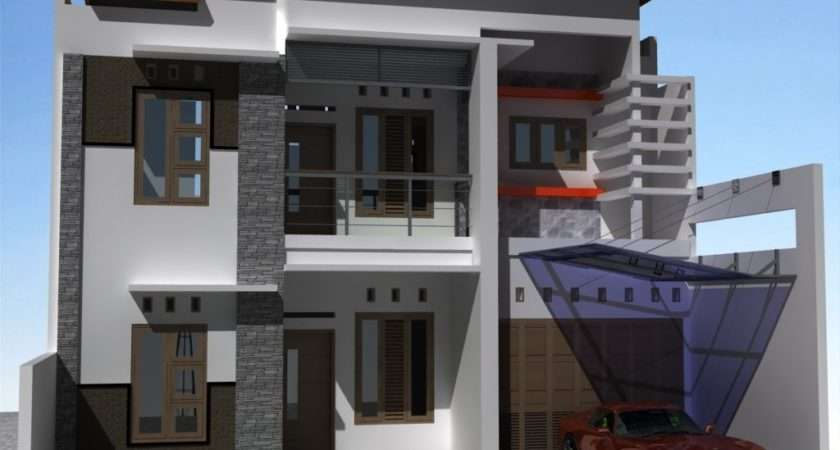 Middle Class House Front Elevation Style Plans