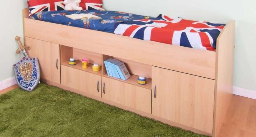 Midi Cabin Bed Colour Options Ideal Children Safe