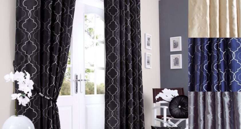 Midtown Lined Eyelet Ring Top Curtains Choice Colours Sizes