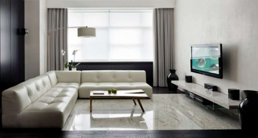 Minimalist Living Room Designed Bydecolieu Studio Design