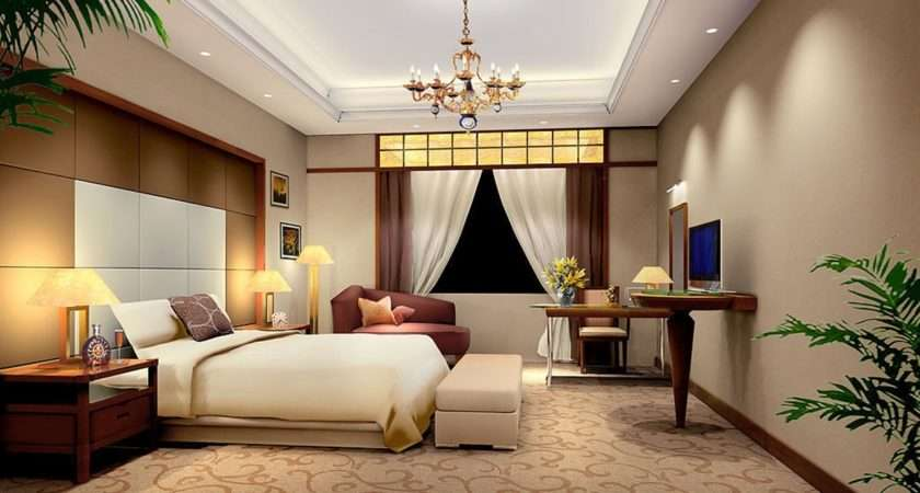 Minimalist Master Bedroom Design Rendering House