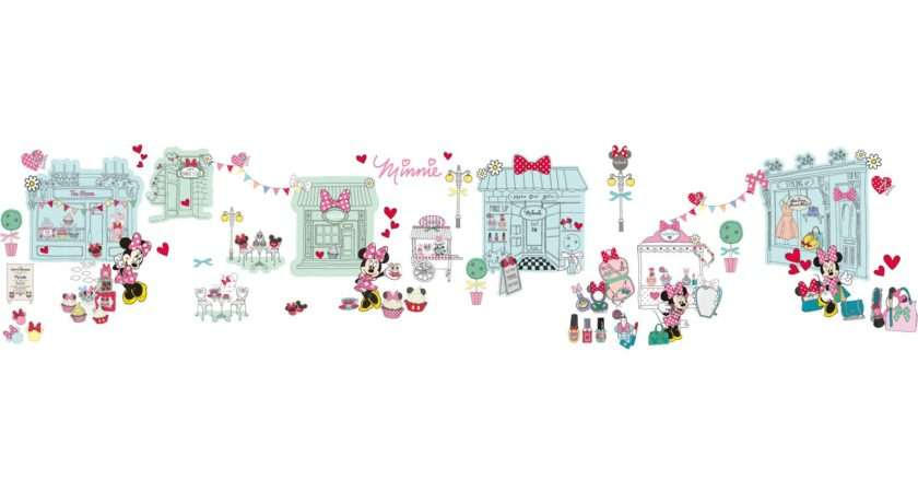 Minnie Mouse Wall Border Self Adhesive Best
