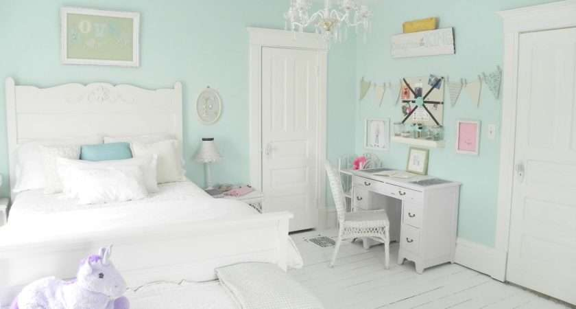Mint Girl Room Want White Washed