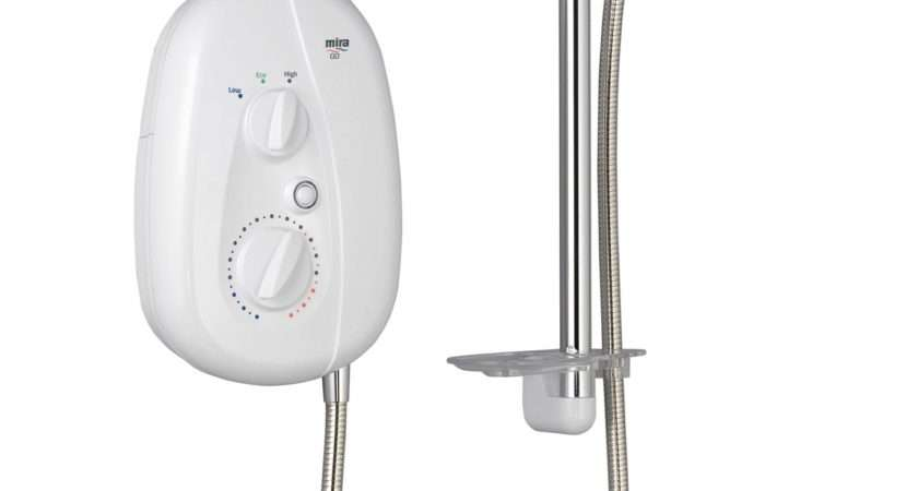 Mira Electric Shower White Departments Diy