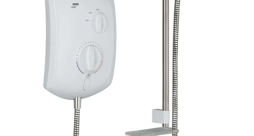 Mira Jump Electric Shower White Departments Diy