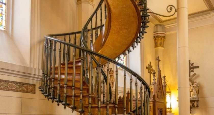 Miraculous Staircase Loretto Chapel Santa New