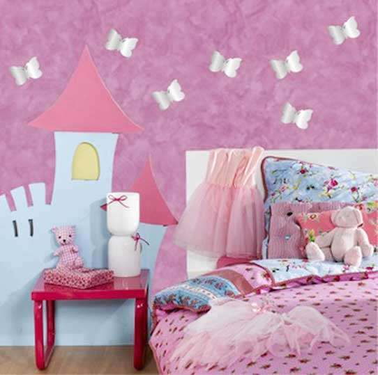 Mirrors Wall Decor Butterfly Room
