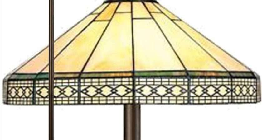 Mission Tiffany Style Handcrafted Floor Lamp Ebay