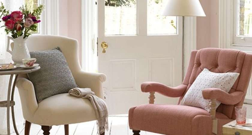 Mix Match Armchairs Small Country Living Room Ideas