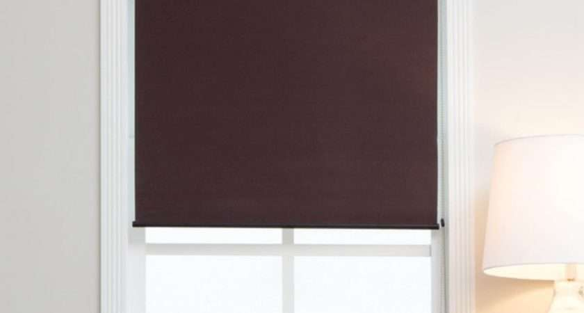 Mocha Blackout Fabric Roller Shades Overstock