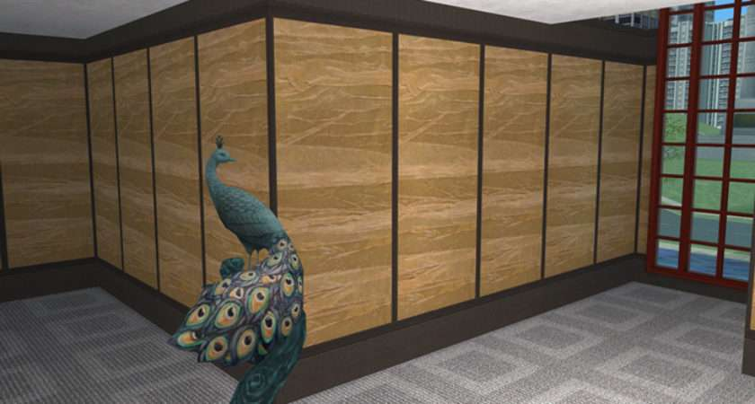 Mod Sims Handcrafted Paper Panels