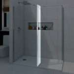 Mode Luxury Walk Shower Enclosure Pack Tray